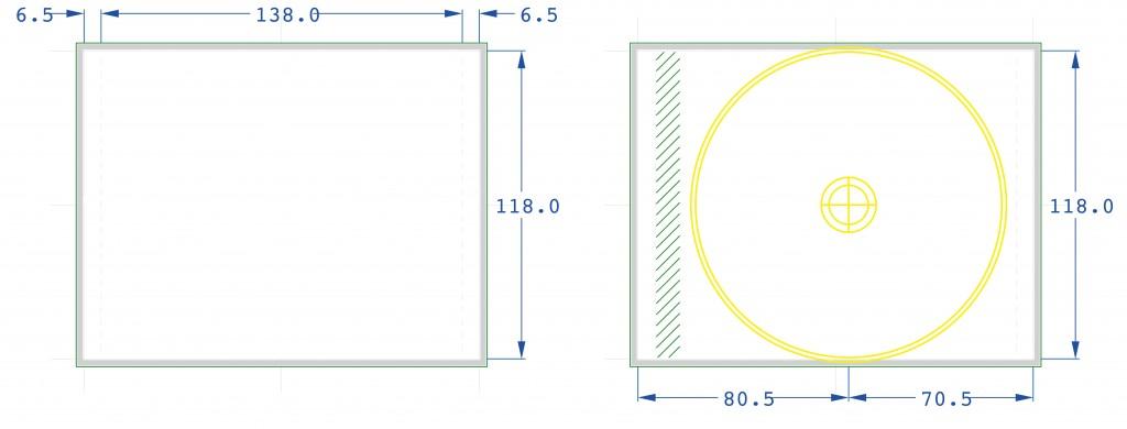 Normer för baksides ilägg (Inlay)